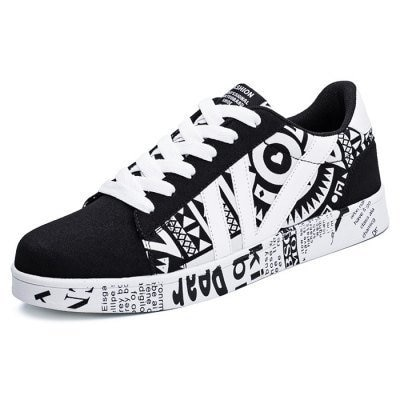 Special Printed All-match Shoes for Men