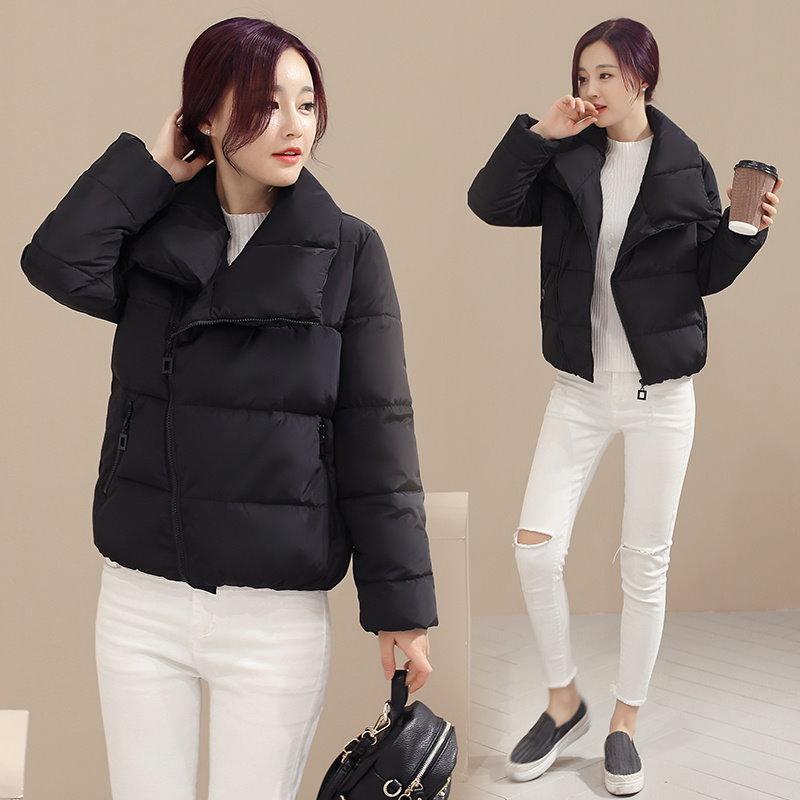Kuyomens新しいEpacket秋のコートの女性のジャケット冬の女性の綿の女性パーカー女性の冬のジャケットを着