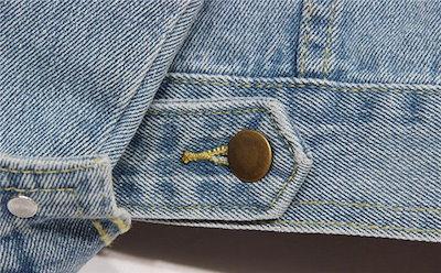 デニムジャケット デニム ジージャン ジャケット gジャン Gジャン アウター レディース カジュアル 長袖 ポケット 大きいサイズ 小さいサイズ