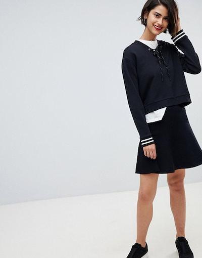 ヴェロモーダ レディース スカート ボトムス Vero Moda Peplum Hem Skirt