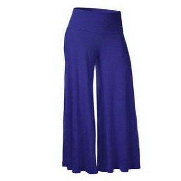 Fashion Women Wide Leg Pants High Waist Elastic Party Pants Pantalones Mujer Casual Trousers Ladies