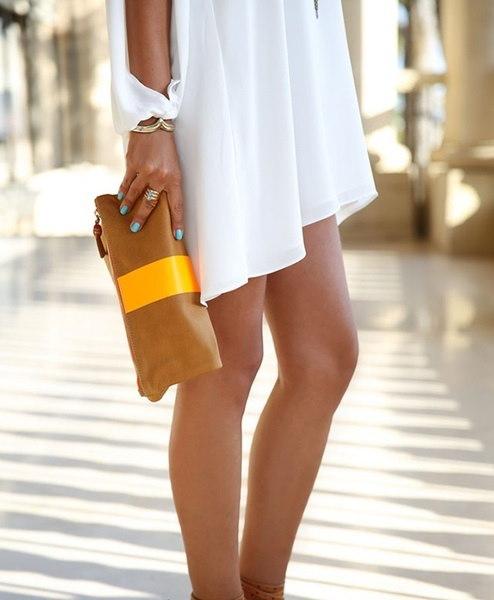 4色ファッションVカラーシフォンロングスリーブルーズワードドレスプラスサイズ