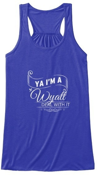 Wyatt   Deal With It! BELLA+CANVAS Women s Flowy Tank