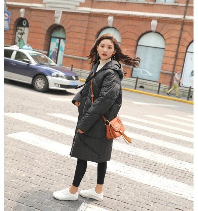 ダウンコート ロング レディース ダウン アウター 韓国ファッション ジャケット アウター ゆったり 冬 秋 カジュアル トップス 女性 中綿 安い 可愛い 暖かい きれい