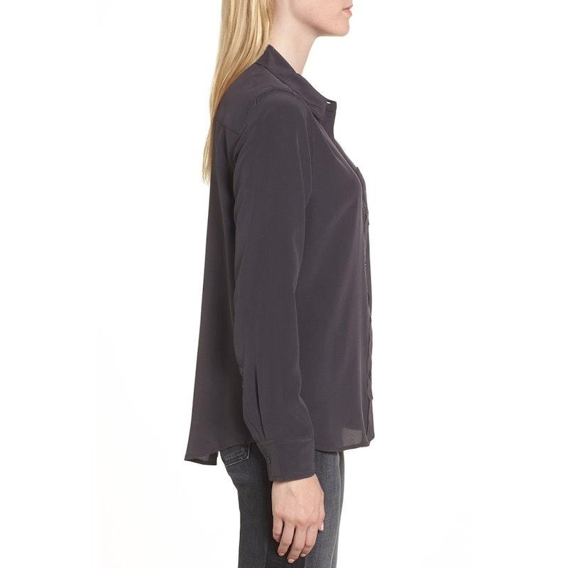 レイルズ レディース トップス ブラウス・シャツ【Kate Silk Shirt】Charcoal