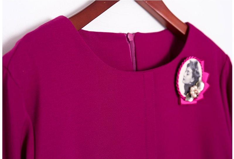 『韓国製』SELLISHOP  Elizab ワンピース「大きいサイズ 大人 韓国 ファッション・結婚式・フォマール 黒 フレア 30代 40代 50代 スレンダー・Aライン,シャツ・上品・ロング ミ