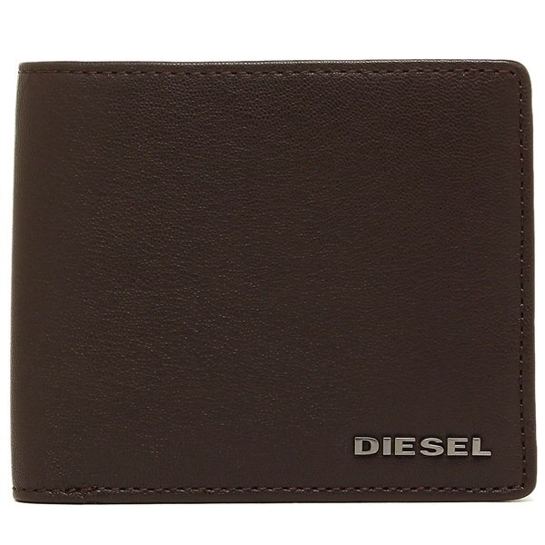 DIESEL 財布 ディーゼル X04459 PR013 H6252 メンズ 二つ折り財布 ブラウン