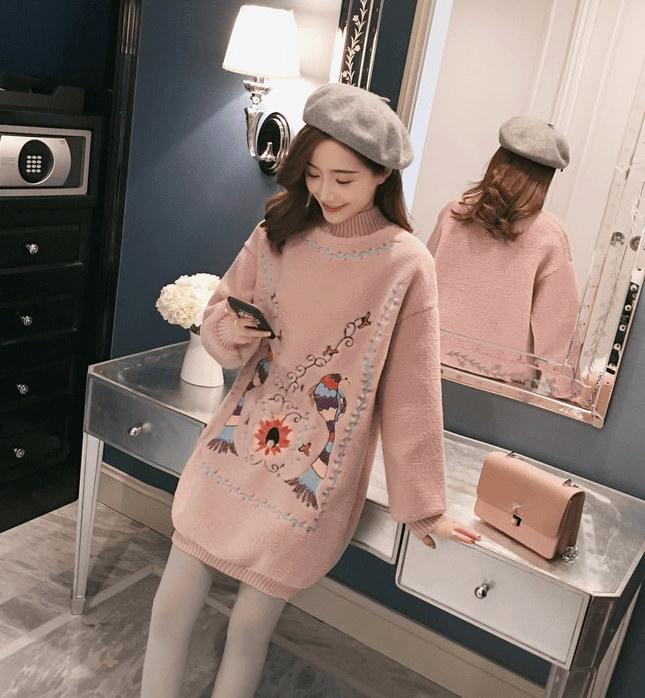 韓国ファッション 人気沸騰の アウター レディーストップス セーター レディース カジュアル カジュアルでカッコイイ大人のニット ニット トップス ニット 長袖 大人可愛い