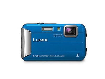 Panasonic Lumix DMC-TS30デジタルカメラ(プレミアム、ブルー)