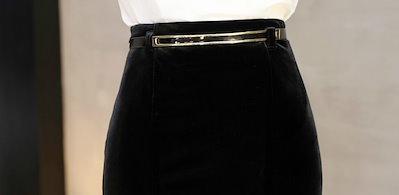 大人セクシーなマーメイドスカート  ロング丈 ハイウエスト シンプル 無地 上品 キレイめ お洒落 フレア セクシー マーメイド スカート 大きいサイズ ブラック