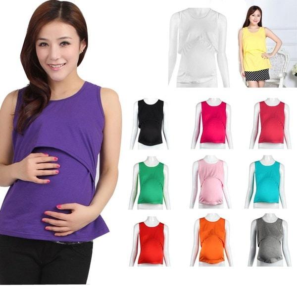 妊娠中のマタニティ服看護婦用ベスト授乳用ベストTシャツ完璧なプレゼント