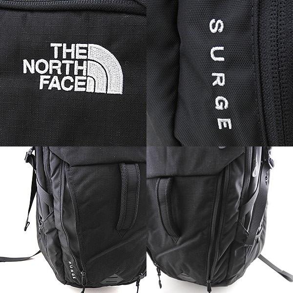 【送料無料】THE NORTH FACE ザノースフェイス SURGE サージ CLH0 JK3 海外モデル メンズ 黒 ブラック バックパック リュック コーデュラナイロン 大容量 多機能