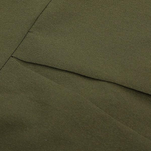 女性の夏のカジュアルロングスリーブシフォンドレスレディースファッションVネックのTシャツルーズなショートドレストップ