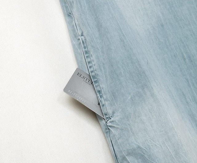 デニム ワンピース ミニワンピ 半袖 ビーズ ダメージ加工 ビジュー スカート 大きいサイズ サイズ豊富 ジッパー 韓国 ヨーロッパ パール オシャレ ファッション ミニスカ チュニック ジーンズ シンプル Aライン 大人 可愛い ライトブルー 素敵 (60-88) ※納期に10日から14日ほどかかります。