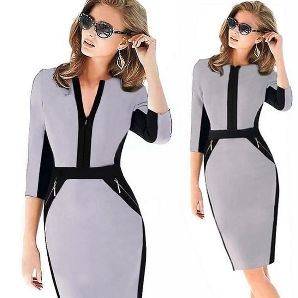 2015新しいファッションオフィスペンシルドレスカクテルパーティーセクシーなスカート