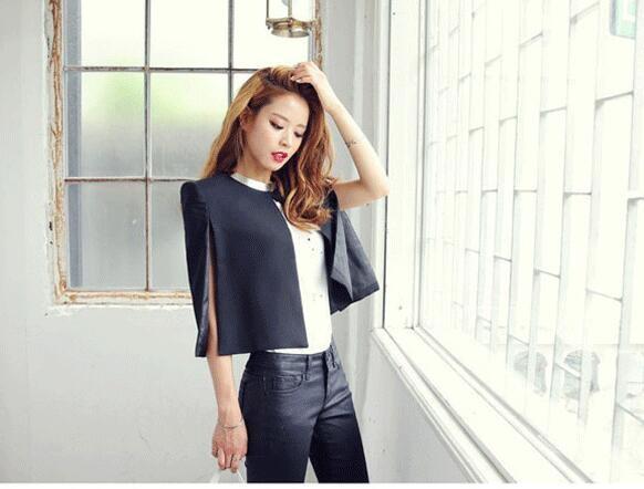 [55555SHOP]2017新品 韓国ファッション レディース アウタージャケットコート欧米風体型カバー大セール