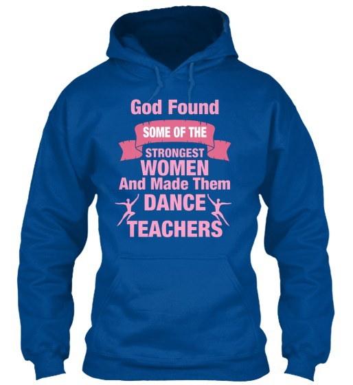 強い女性のダンス教師アパレルギルダン8ozヘビーブレンドパーカー