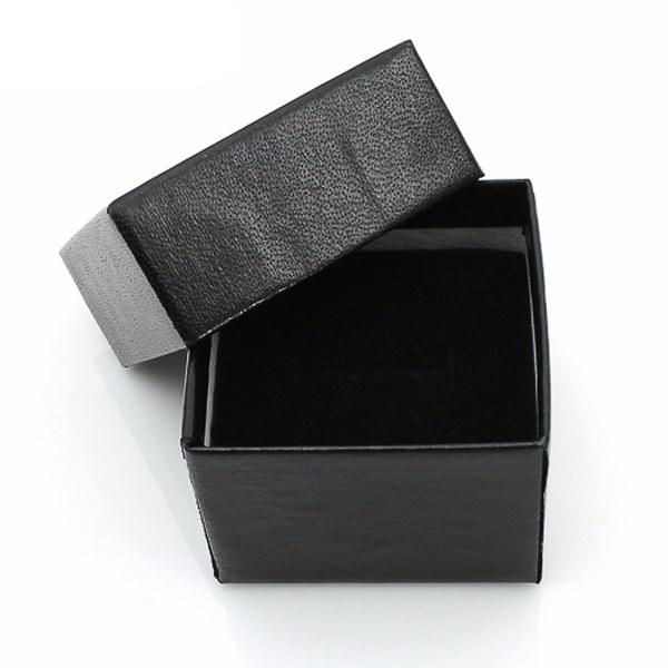 女性の9エメラルドカットソリティアCZローズゴールドステンレス鋼の婚約指輪