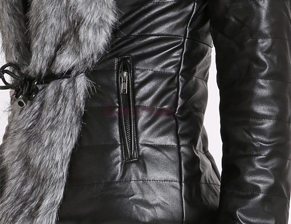 Autumn Spring and Winter Silver Faux Fox Fur Coat Jacket Outerwear Womens Fashion Short Coat SV004746|41001