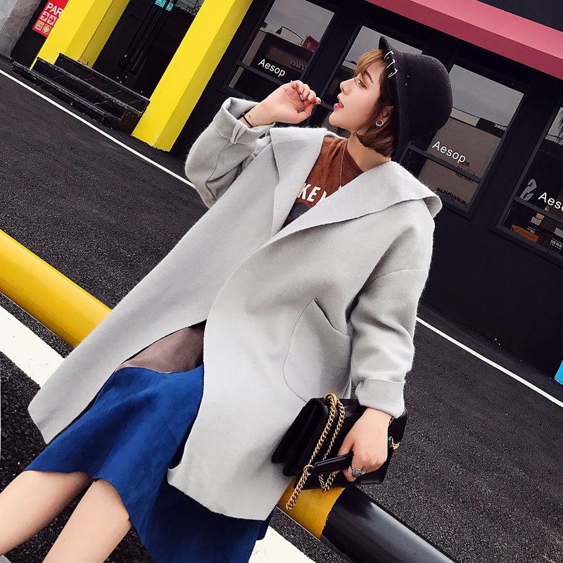 2017欧美的新型外套大活跃。宽松的线条修饰体型~♪✫到大人的休闲的气氛很重要大衣2017欧美的新型外套大活跃。宽松的线条修饰体型~♪✫到大人的休闲的气氛很重要大衣2017欧米の新型コー