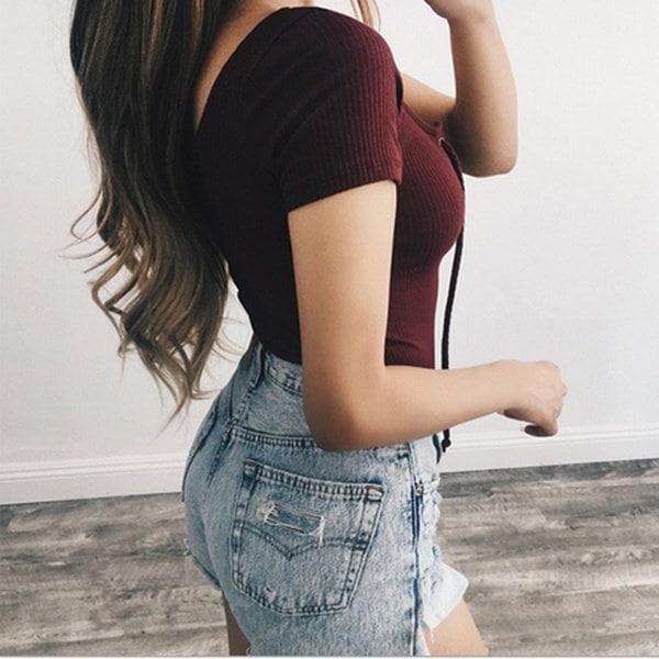 2017女性ファッションセクシータイトバンデージサイアムパンツカラーブラック・ホワイト・ワインレッド・アプリコットサイズ:S・