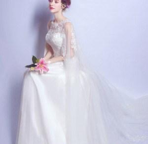 贅沢なウェディングドレス 品質良い Aライン フォーマル パーティードレス 結婚式 二次会 卒業式 花嫁の介添え 袖あり セクシー レース 刺繍半袖ドレス お呼ばれ ワンピース ワンピドレス