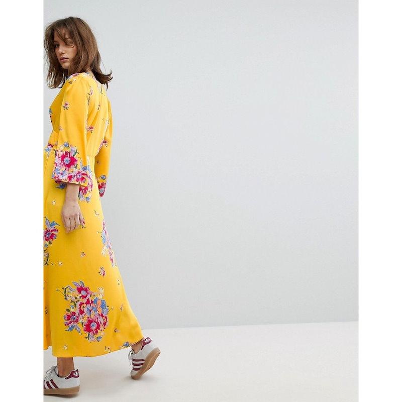 フリーピープル レディース トップス【Free People Alexa Drouser Top】Sun yellow