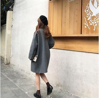 嘉年華SHOP2018年新秋の作♥超人気韓国ファッション  大人気商品/ルーズ/スリム/ロングスリーブ/トレンチコート/アウター
