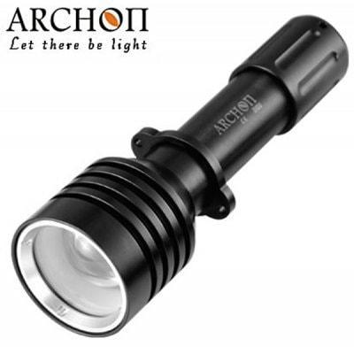 Archon D10UダイビングトーチCree XM  -  L U2 3  - モード860lmハイライトLED白水中60m懐中電灯