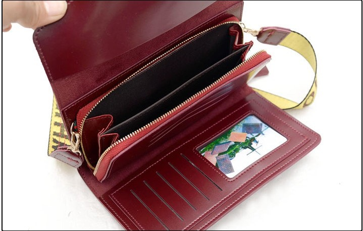 女の財布を2018大容量財布携帯長め多機能の多くを手に包潮ボックス席