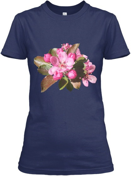 フラワーユリチューリップ - キャンバス14 Gildan Women's Tee Tシャツ