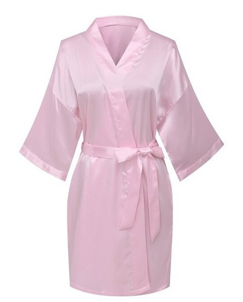 Fascinating  Yukata Satin Wedding Bride and Maid of Honor Robe