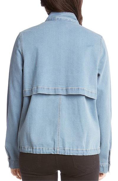 カレンケーン レディース ジャケット・ブルゾン アウター Karen Kane Embellished Denim Jacket