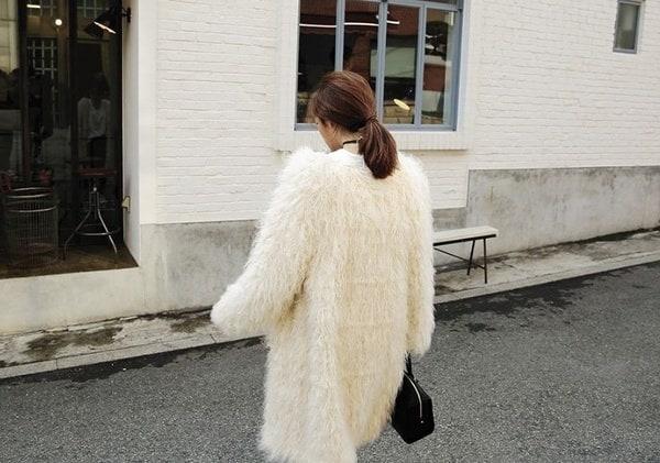ハイエンドの綿のヨーロッパヤード2017秋の服の新しいファンドの外国貿易魔法の革のニットsw