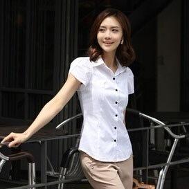 ベストセラーファッションレディース夏のオニオンブラウスベーシックシャツエレガントなOLドレスビジネスフォーマルS