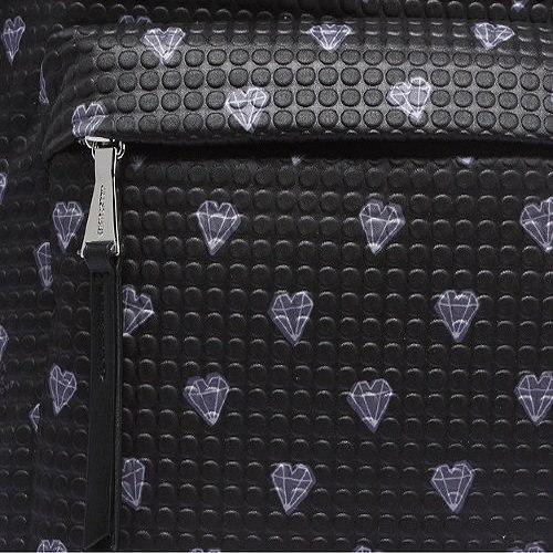 [ジルスチュアート]JILL STUART ACC BLACK DIAMOND PETIT LUMIERE BACKPACK、女性らしいパターンかばん、男女共用旅行かばん、人気学生カバン [並行輸入品]
