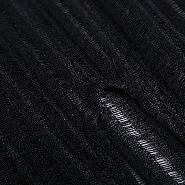 シースル ロングT Tシャツ ワンピース 半袖 ワンピース ロングTシャツ ワンピース ミモレ丈 クールネック ラウンドネック レディース