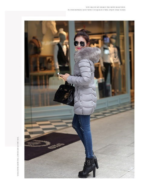 プラスサイズ新しい女性のフード付きコットンコート妊婦ウォームルースの厚いジャケット