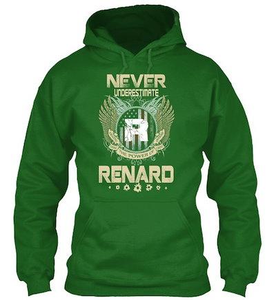 Name Is Renard Gildan Hoodie Sweatshirt