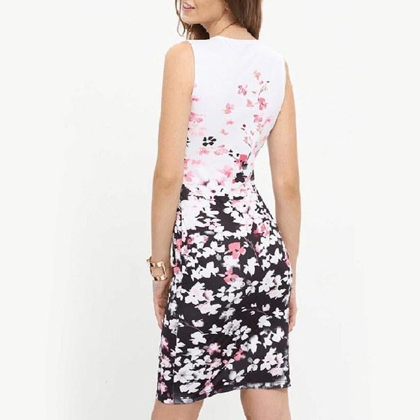 最新のトップファッション女性O  - ネックロングスリーブアプライドブロンズエレガントボディコンドレスレディースストレッチ