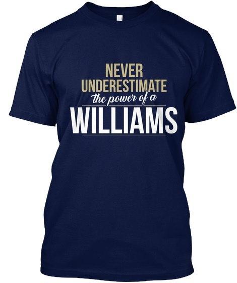 ウィリアムズは決して過小評価しないウィリアムズヘインズタグレスティー