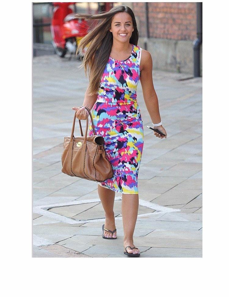 ヨーロッパ ファッション衣装sleevekess マルチ プリント夏カジュアルボディコンドレス