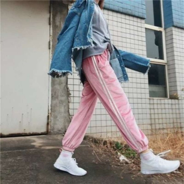 ファッションスプリング秋の女性の長袖のストライプカジュアルトップスカーディガンブラウスセーターD_L