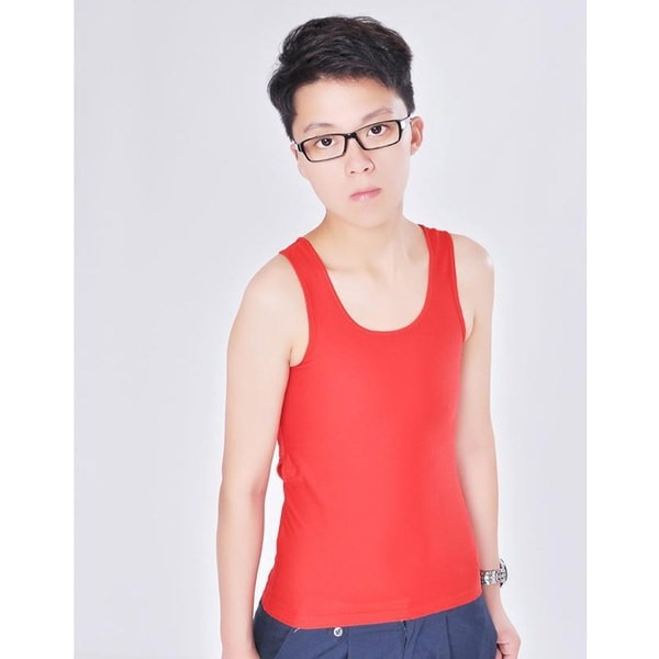 女性のバインダーの胸のベストアンダーシャツスリムフィットトップS  -  XXL