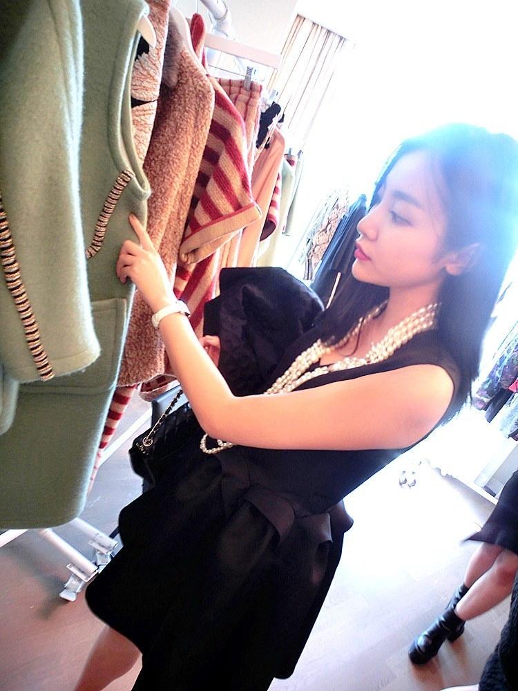 preNew-A/W_korea like style mini tutu dress・ミニ丈袖なしワンピース❀CoCoスタイルドレス❀The little black show❀elegant woman--MFI
