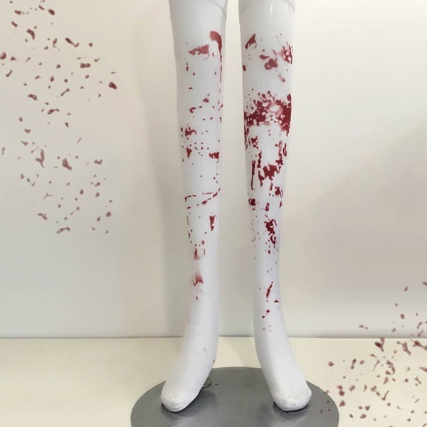 ハロウィーンパーソナリティマスカレードファッションアクセサリーブラッディソックスナースストッキングブラッディゾンビBl