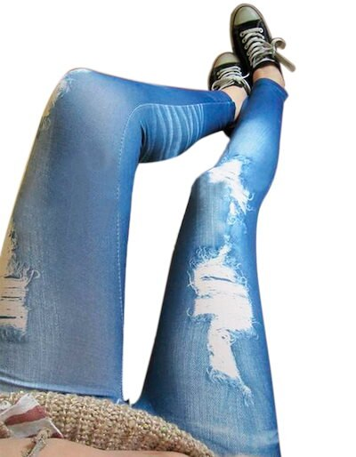 Zeagooレディースファッション韓国のストレッチペンシルスリムレギンスジーンズスキニーパンツ