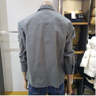 JEEP[SAY公式ストア]【JEEP】ユニ]ポケットパッチアウター型シャツ(GJ2SHU202)