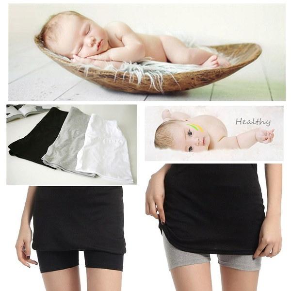 Dhappy®Women Modaier妊娠3分パンツ韓国セキュリティパンツボディースリムアンチレギンスマター