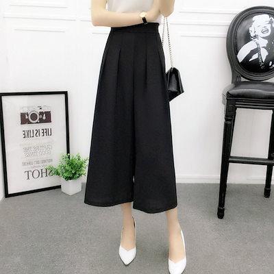 ワイドパンツ シンプル レディース パンツ シンプルなつくりの綺麗めワイドパンツ 大人 レディース 黒 ブラック 赤 レッド 灰色 グレー キャメル A0197